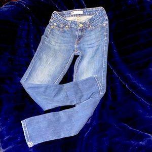 LEVI's. 535 LEGGINGs. MEDIUM WASH. SOFT. COMFORT